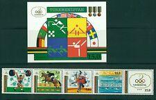 OLYMPIC GAMES BARCELONA 1992 TURKMENISTAN 1992 set+block
