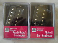 Seymour Duncan Pearly Gates & Alnico 2 noir pickups fit Gibson Les Paul SG 335