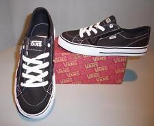 3e2d76f47859f9 Vans Youth Kids Black or Black Plaid Tory Skate Shoes SIZES! NIB  Skateboarding