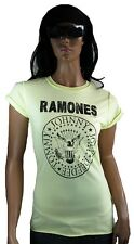 AMPLIFIED RAMONES Hey Ho Let's Go Jonny Deede You Rock Star Vintage T-Shirt g.M