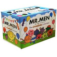 Mr Men My Complete Collection 50 Books Box Set Gift Pack, Mr. Tickle, Happy, AUS