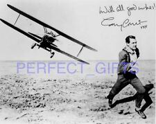 CARY GRANT NORTH BY NORTHWEST SIGNED 10X8 PP REPRO PHOTO   N1