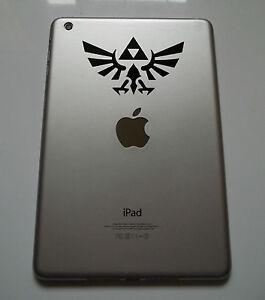 1 x Legend of Zelda Decal - Vinyl Sticker for iPad Mini Gaming Games Air Mac Pro