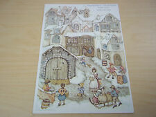 Vintage Hallmark Christmas Advent Calendar Card - Excellent