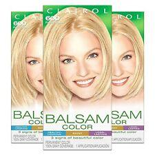 Clairol Balsam  Women's Permanent Blonde Hair Dye, 600 Palest Blonde, 3 Count