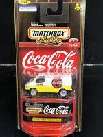 MATCHBOX 55 FORD TRANSIT VAN COCA COLA  COKE 1/64 SCALE DIECAST
