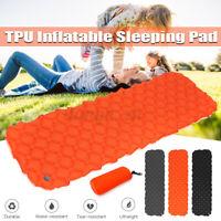 Outdoor Portable Air Inflatable Mat Sleeping Pad Camping Tent Mattress