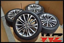 "Set of 2015-2017 18"" Hyundai Genesis Wheels Tires Factory OEM 52910-B1150 70870"