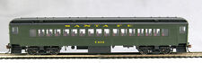 HO mP-54 Santa Fe (cars bought from PRR in 1949)Coach #T103  (Pullman Green)