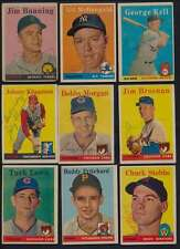 1958 Topps # Jim Bunning, Gil McDougald + 25 others Autographed Authentic 39815
