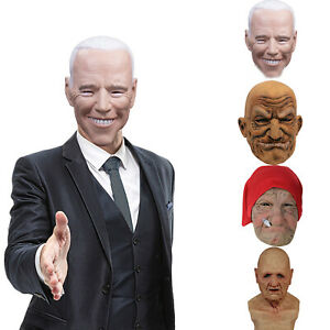 Another Me-The Elder Halloween Holiday Funny Mask Super Soft Old Man Adults Mask