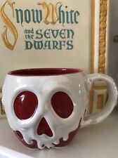 Disney Poison Apple Mug Villain Evil Queen Cup Snow White Seven Dwarfs Ceramic