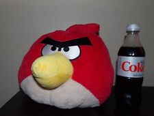 "12"" Angry Birds  Large RED Plush, with Sound Chip, Stuffed Animal, Plush Pillow"