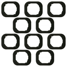 10x iPhone 6/6S and Plus Home Button Rubber Gasket Adhesive Sticker Holder