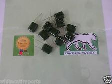 10 x  0.33uf 330nf 100v Polyester capacitor greencap