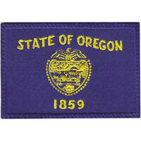 Oregon Flag Embroidered Patch
