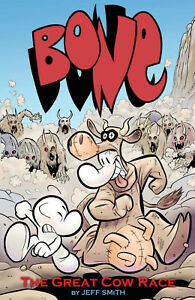 Bone Color by Jeff Smith Vol 2 The Great Cow Race TPB Softcover Graphic Novel