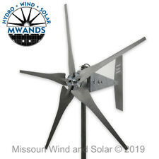 5 Blade 1600 Watt Sealed Wind Turbine Gray Blades | Missouri Wind and Solar