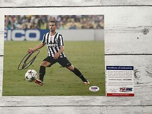 Sebastian Giovinco Signed Juventus 8x10 Photo PSA/DNA COA Autographed a