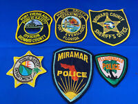 Various State Patches #27 Lot Of 6 Various Departments From United States
