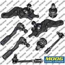 Moog Suspension Kit Ball Joint Tie Rod End Sway Bar For Toyota Tundra 2000-2002