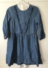 ONLY Blue Denim Mini Dress, Size 8, BRAND NEW WITH TAGS