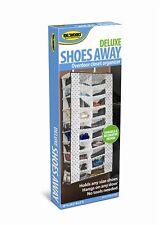 Deluxe Shoes Away Hanging Organizer Organize 20 Pairs Closet TV Holder Over Door