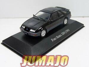 ARG47 Voiture 1/43 SALVAT Autos Inolvidables : FORD SIERRA XR4 1984 noire