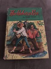 VINTAGE 1955 HUCKLEBERRY FINN BY MARK TWAIN - DAMAGED AS PER PHOTOS
