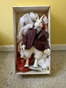 Faith Wick Doll - White Rabbit - Elegante