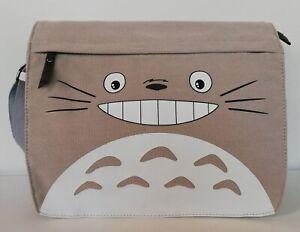 Studio Ghibli My Neighbour Totoro Grey Canvas Shoulder Messenger Cross Body Bag