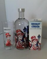 Absolut Vodka London 0,7 L mit Glas