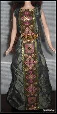 DRESS MATTEL BARBIE DOLL SILKSTONE DOTW PRINCESS OF IRELAND WRINKLED GREEN GOWN
