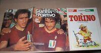 RIVISTA=GUERIN SPORTIVO= NR°21 1976=TORINO CAMPIONE D'ITALIA=POSTER STORY TORO