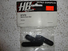 PARTS NEW Hot Bodies (HB), 67378 Servo horn set D8
