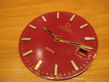 VINTAGE OMEGA GENEVE AUTOMATIC RED DIAL & HANDS