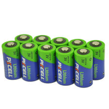 123A CR123A CR17345 PL123A 3V Camera Photo Lithium Batteries (Pack of 10)