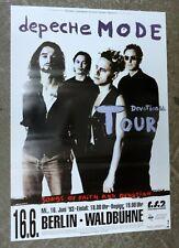 Depeche Mode    Konzertposter   1993    Berlin
