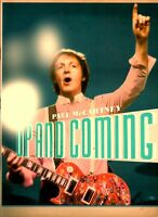 PAUL McCARTNEY 2010 VOL. 1 UP AND COMING TOUR CONCERT PROGRAM BOOK / NMT 2 MNT