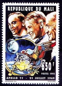 Father of space shuttle Dr. George Mueller, Fletcher, Apollo11, Mali 1969 MNH