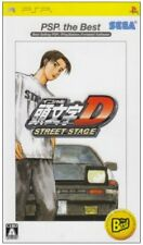UsedGame PSP Initial D Street Stage PSP the Best [Japan Import] FreeShipping