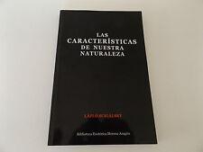 Las CARACTERISTICAS de NUESTRA NATURALEZA Lazlo Scigalsky SPANISH Occult HEALING
