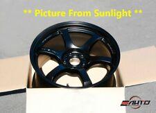 "Rays Gram lights 57DR Wheel Rim 18"" 18x9.5 +22 5x114 *Semi Gloss Black* 22lbs"