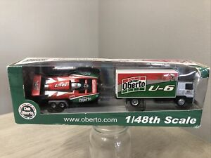 Oh Boy Oberto Hydroplane 1:48 Die Cast 2006 Beef Jerky Go Racing D.A Graphics