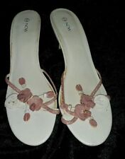 Target Open Toe Synthetic Heels for Women