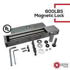 Access Control Magnetic Lock Holding Force Door Access System 600LBS UL Listed