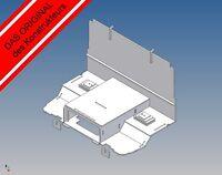 LB-STK - Fahrerhausboden für Tamiya Scania R Maßstab 1:14 Trennwand Sitzkonsole