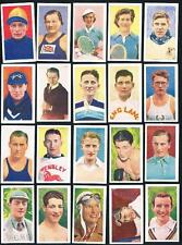 1939 R.J. Hill Celebrities of Sport Complete Set of 50 Sports Cards