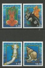 Faroe Is 2002 Local Mollusks--Attractive Marine Life Topical (409-12) MNH