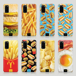 Tirita Case for Samsung S20 S10 S8 S9 S7 Burger Fries Fast Food